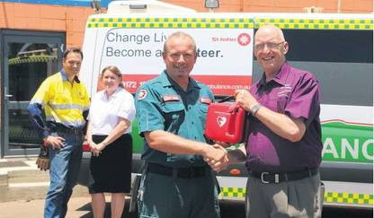 Defibrillators to Hasten Emergency Care - Port Hedland Peace Memorial Seafarers Centre