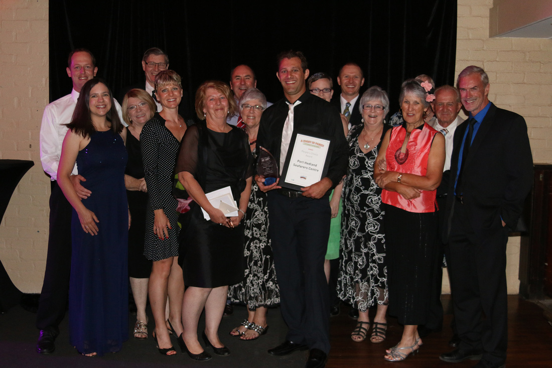 Port Hedland Seafarers Centre - Port Hedland Business of the Year Awards 2015