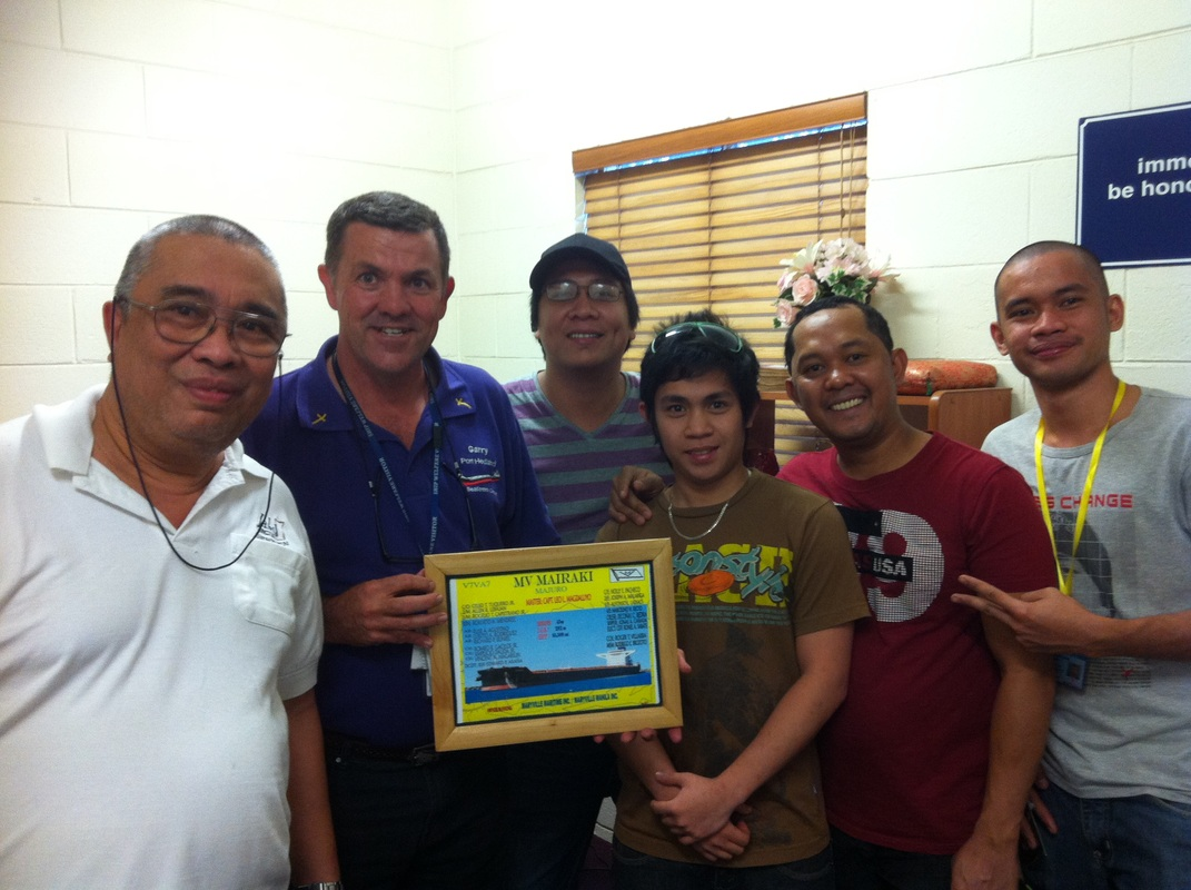 The Port Hedland Seafarers Centre - Presentation from the MV Mairaki