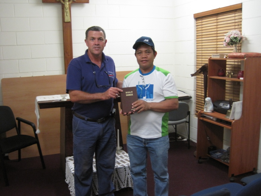 Port Hedland Seafarers Centre - Bibles for Seafarers